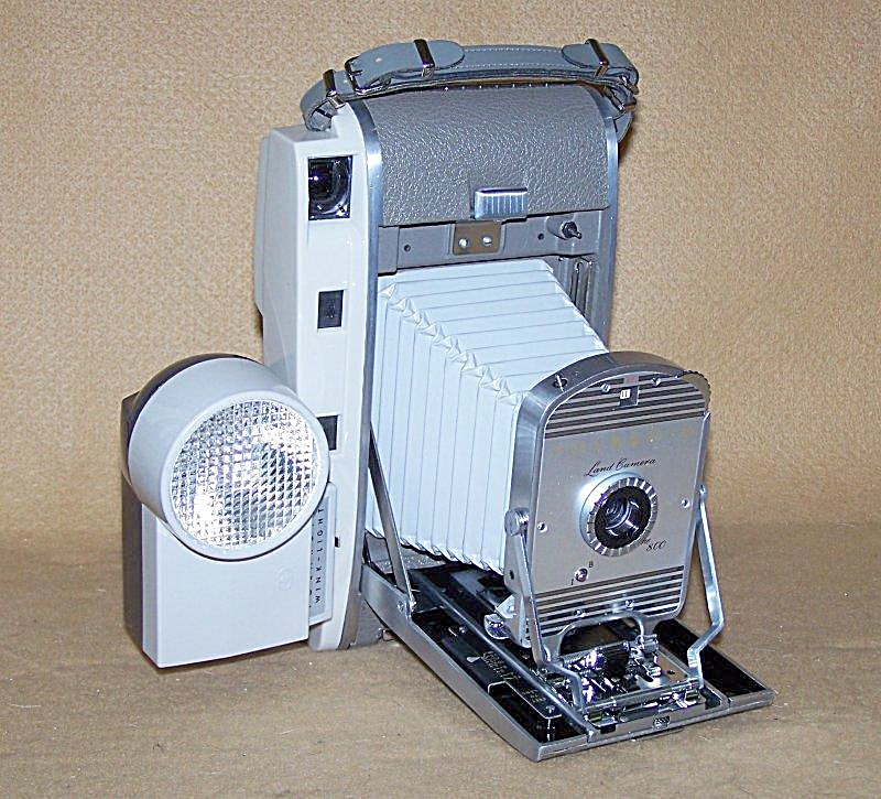 Collectible Polaroid Model 800 Camera Outfit