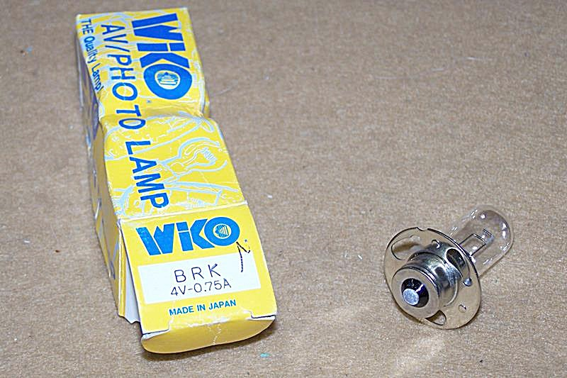 Brk 4 Volt 0.75 Amp Projector Bulb Replacement
