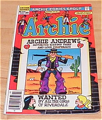 Archie Series: Archie Comic Book No. 324