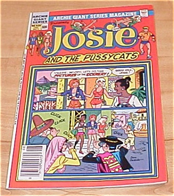 Archie Giant Series: Josie And The Pussycats Comic Book No. 528