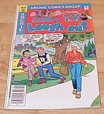 Archie Series: Archie's T.v. Laugh-out Comic Book No. 84