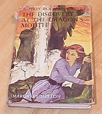 Judy Bolton The Discovery At The Dragon's Mouth Book 31 1st Ed Dj