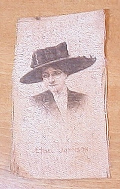Ethel Johnson Cigarette Silk