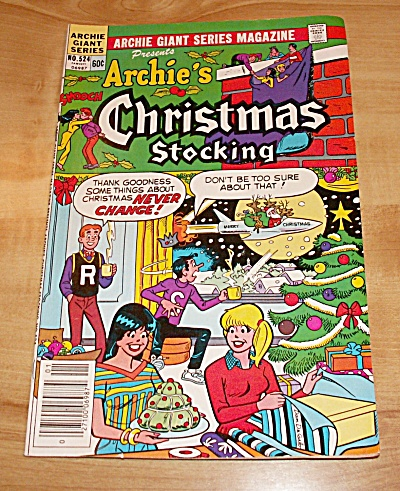 Archie Giant Series: Archie's Christmas Stocking Comic Book No. 524a
