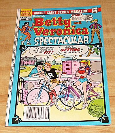 Archie Giant: Betty And Veronica Spectacular Comic Book No. 518
