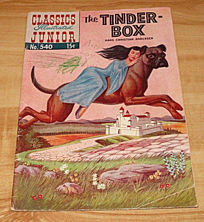 Classics Illustrated Junior: The Tinder-box Comic Book No. 540