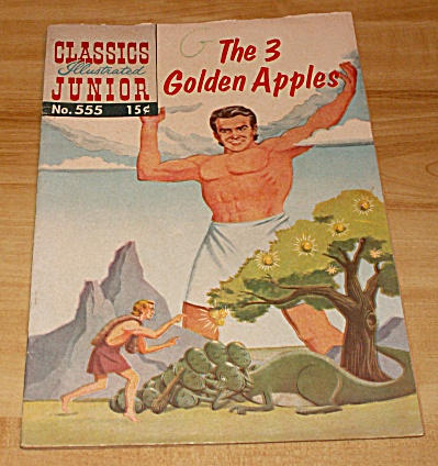 Classics Illustrated Junior: The 3 Golden Apples Comic Book No. 553