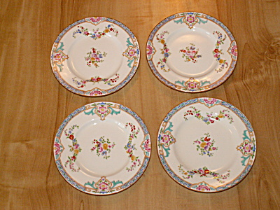 Set 4 Lovely 1931 Mintons B917 Bread Butter Plates 6 1/8 In. Minton