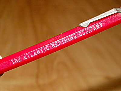 Advertising Mechanical Pencil The Atlantic Refining Company Scripto