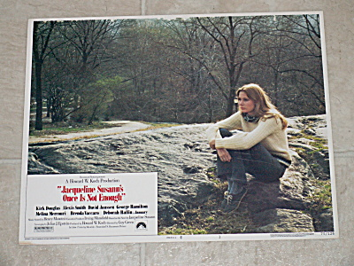 1975 Original Movie Lobby Card Jacqueline Susann's Once Is Not Enough