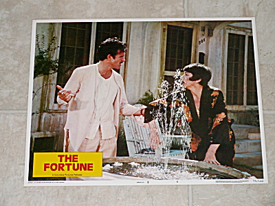 1975 Original Movie Lobby Card Poster The Fortune Warren Beatty #6