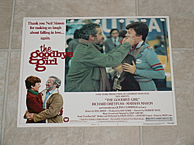 1977 Original Movie Lobby Card Poster The Goodbye Girl Dreyfuss #5