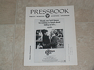 1977 The Goodbye Girl Original Movie Pressbook 3 Part Uncut Ads Copy