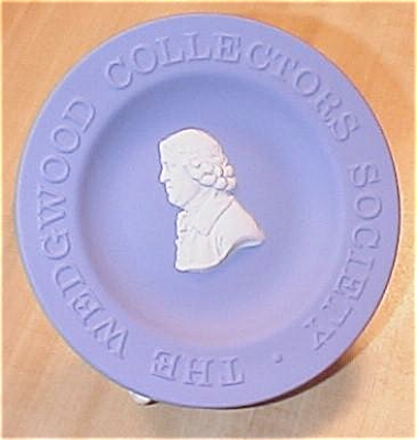 Wedgwood China Blue Jasperware Queensware Dish Collectors Society