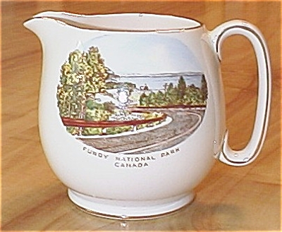 Royal Winton Pitcher: Fundy National Park, Canada