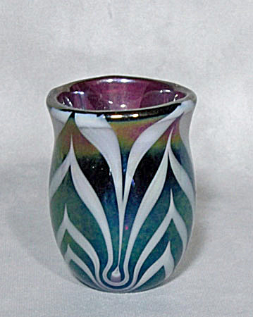 Toothpick Holder: Crider 1976 White Feather
