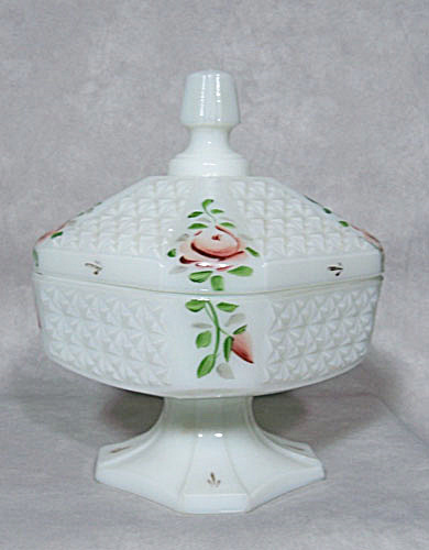Consolidated Con-cora #4505 Roses Candy Dish