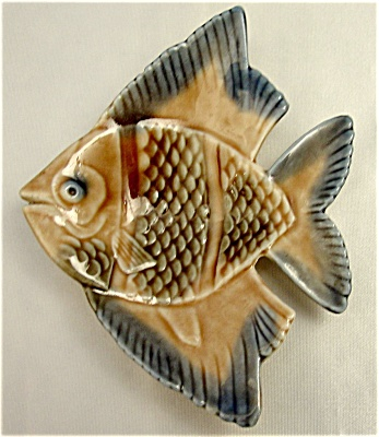 Wade Angel Fish Aqua Dish Pintray/ashtray