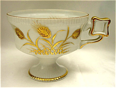 Lefton Golden Wheat Teacup