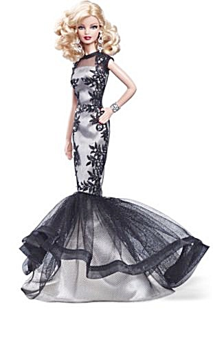 Classic Evening Gown Barbie® Doll Platinum Label