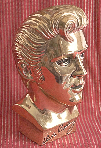 Elvis Presley 1961 Limited Edition Gold Bust