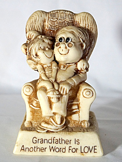 1979 Figurine Grandfather Is Another Word For Love Russ Berrie & Co.