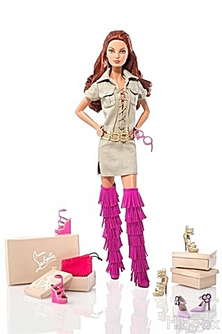 Dolly Forever Barbie® Doll By Christian Louboutin