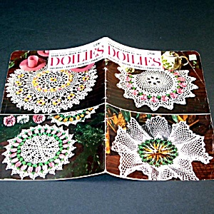 American Thread Crochet Flower Doilies Pattern Booklet