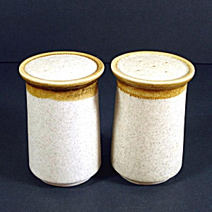 Mikasa Stone Manor Salt And Pepper Shakers