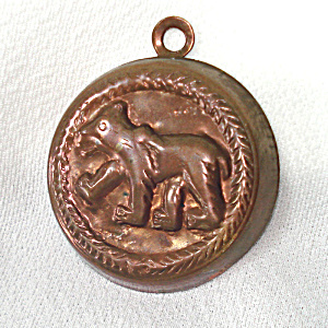 Bear Miniature Copper Candy Or Chocolate Mold