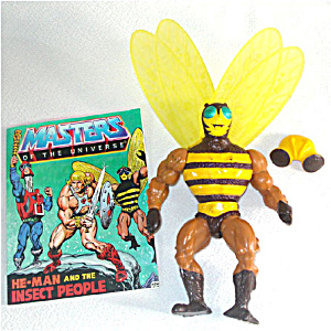 Buzz-off 1984 He-man Masters Of The Universe Action Figure