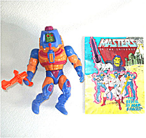 Man-e-faces 1983 He-man Masters Of The Universe Action Figure