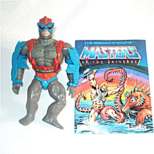Stratos 1982 He-man Masters Of The Universe Action Figure