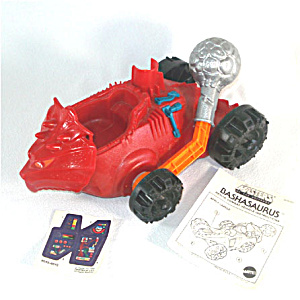 Bashasaurus 1985 He-man Masters Of The Universe Toy Vehicle Complete