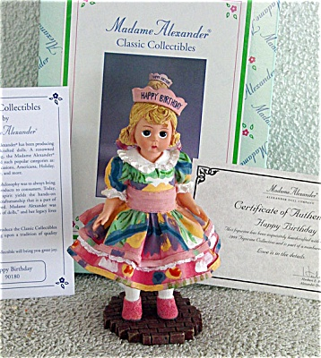 1999 Madame Alexander Happy Birthday Wendy Figurine