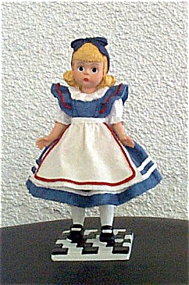 Madame Alexander Alice Resin Figurine 1999