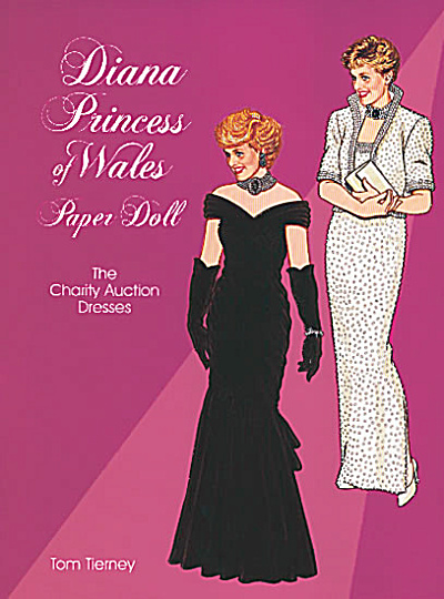 Diana, Princess Of Wales, Paper Doll: The Charity Auction