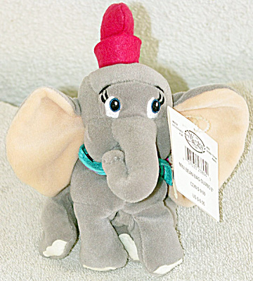 Disney Store Dumbo Mini Bean Bag Without Feather
