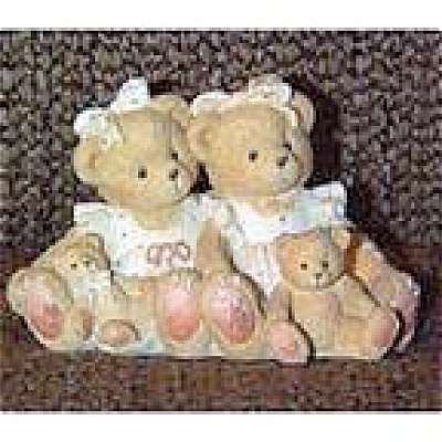 Cherished Teddies Two Friends Figurine No. 127981