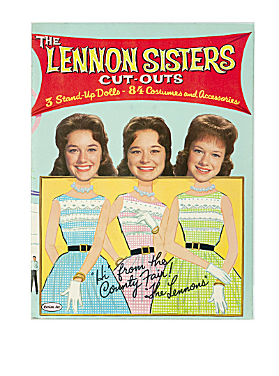 The Lennon Sisters 1963 Cut-outs, At The County Fair