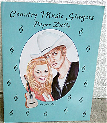 Country Music Singers Paper Doll Booklet 4 Paper Dolls 1996