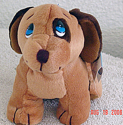Precious Moments Co. Dudley Dog Bean Bag Pal 1997-1998