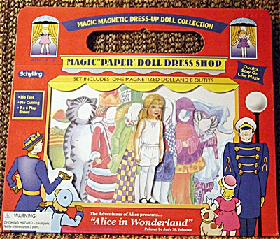 Schylling Magicloth Alice Paper Doll 2003-04
