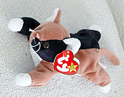 Ty Chip The Kitten Beanie Baby, 1997-1999
