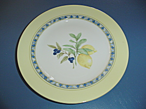 Royal Doulton Carmina Dinner Plates W/lemons & Olives