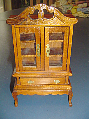 Wood Buffet Doll House Furniture - New