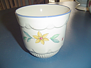 Pfaltzgraff Summer Garden Flower Pot