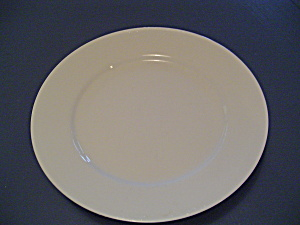 Crate & Barrel Plain White Rimmed Dinner Plates Sri Lanka