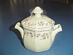 Mikasa Studio Nova Aristocrat Covered Sugar Bowl