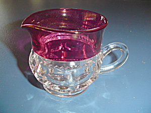 Tiffin/franciscan Kings Crown Creamer